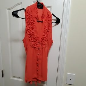 Like New Women's HeartSoul Dress Top